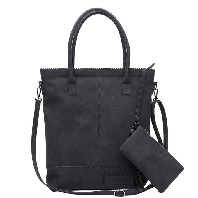 Zebra Trends Natural Bag Kartel Fearless II black2