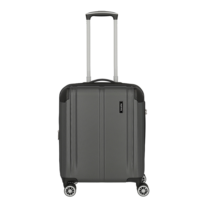 Travelite City 4 Wiel Trolley S Expandable anthracite - 1