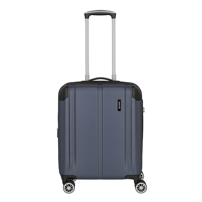 Travelite City 4 Wiel Trolley S Expandable navy - 1
