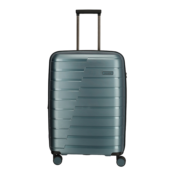 Travelite Air Base 4 Wiel Trolley M Expandable ice blue - 1