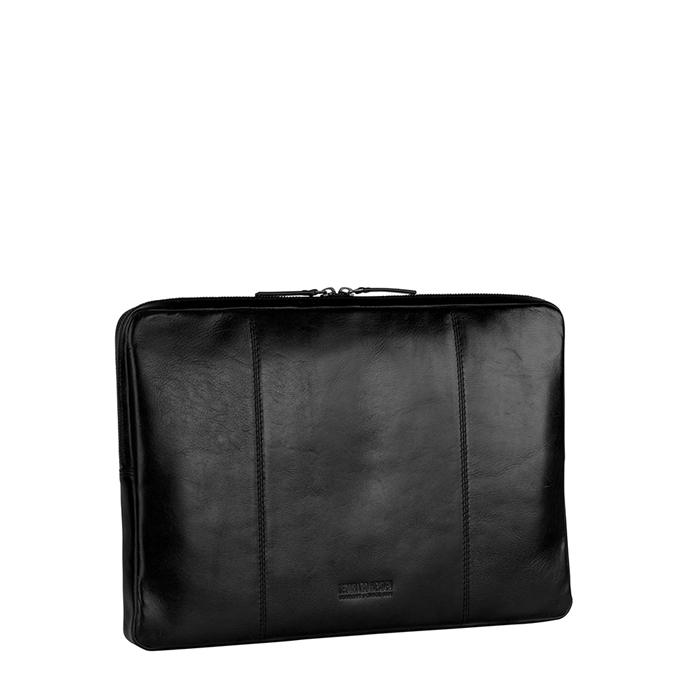 Leonhard Heyden Cambridge Laptopsleeve M black - 1