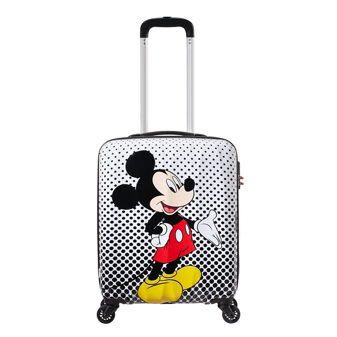 American Tourister Disney Legends Spinner 55 Alfatwist 2.0 mickey mouse polka dot - 1