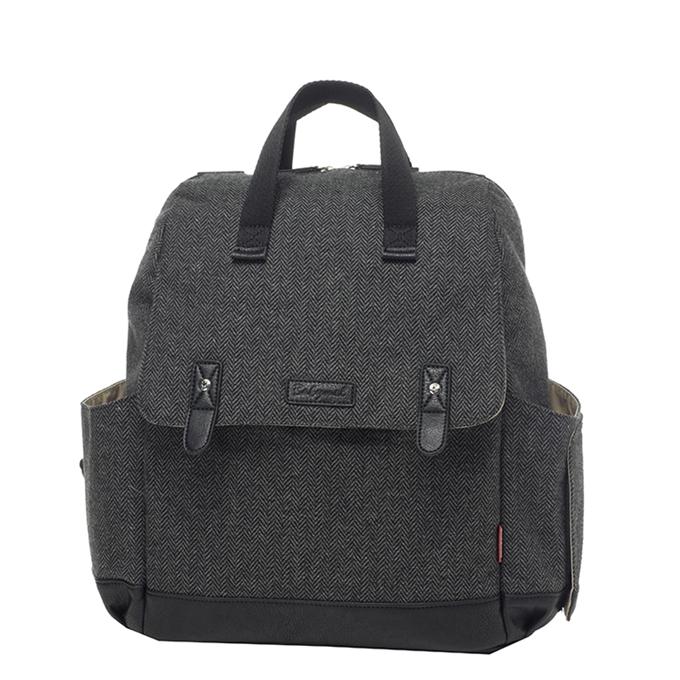 Babymel Robyn Convertible Backpack tweed - 1