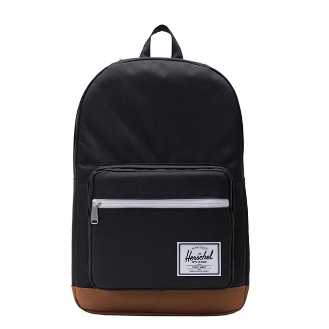 Herschel Supply Co. Pop Quiz Rugzak black/saddle brown - 1