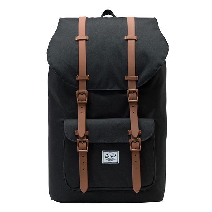 Herschel Supply Co. Little America Rugzak black/saddle brown