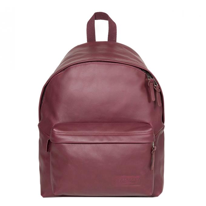 Eastpak Padded Pak'r Leather Laptop Rugzak wine leather - 1