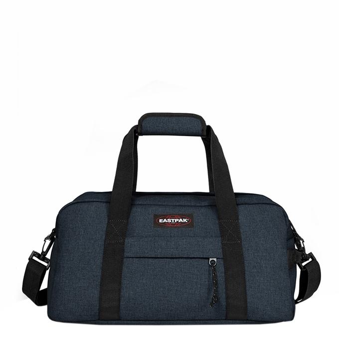 Eastpak Compact + Reistas triple denim - 1