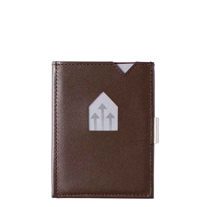 Exentri Leather Wallet RFID brown