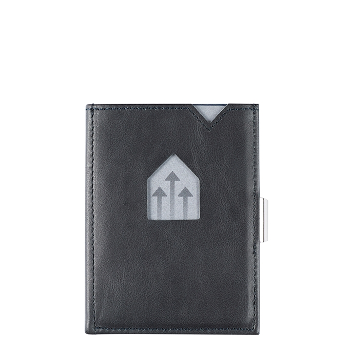 Exentri Leather Wallet RFID blue - 1