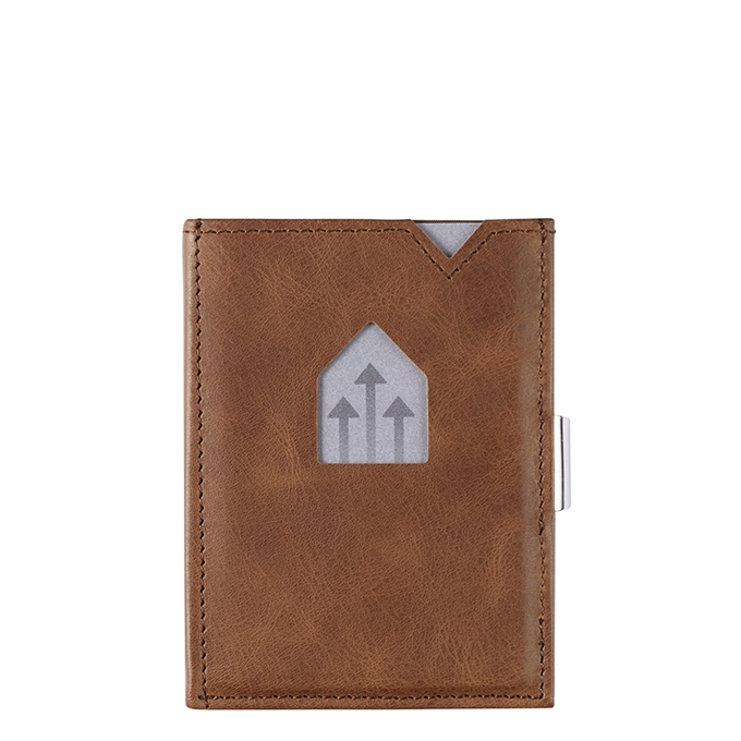 Exentri Leather Wallet RFID hazelnut - 1