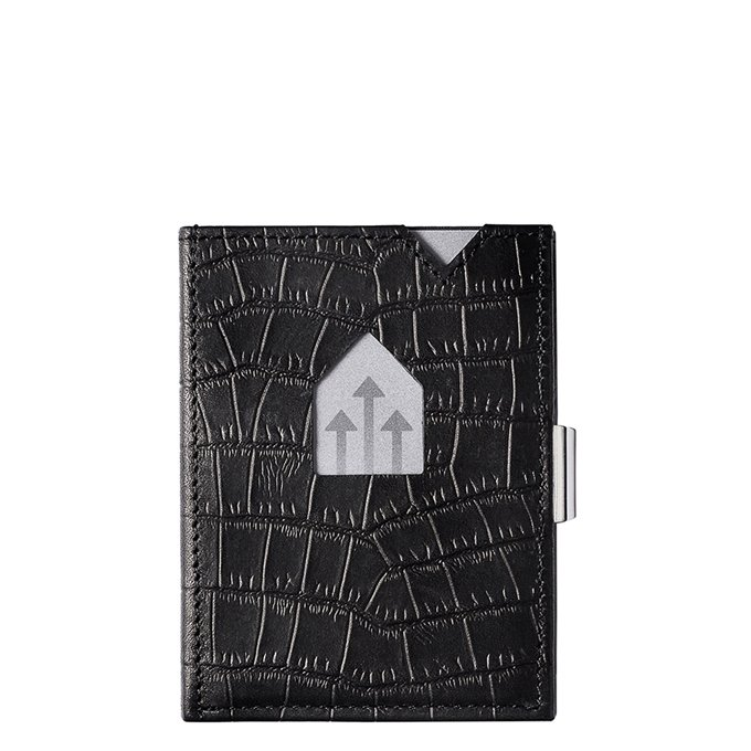 Exentri Leather Wallet RFID caiman black - 1