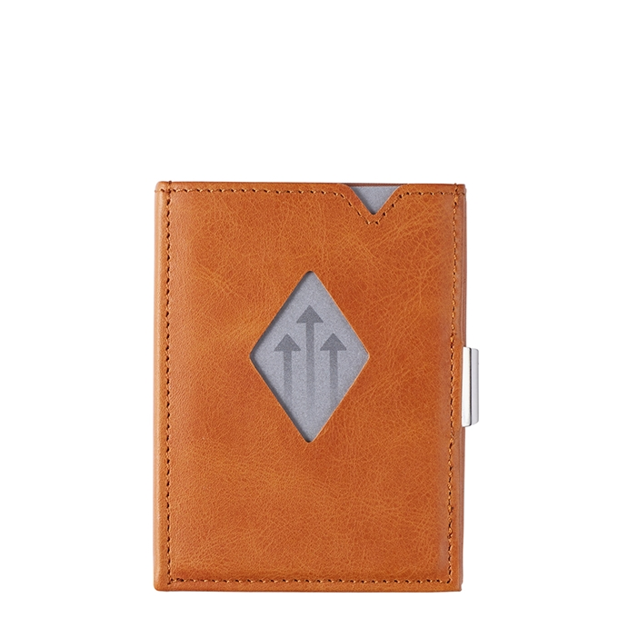 Exentri Leather Wallet RFID cognac