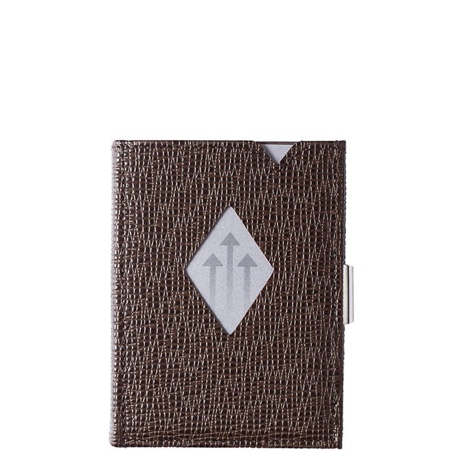 Exentri Leather Leather Wallet mosaic brown - 1