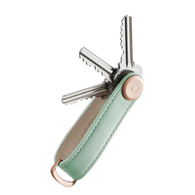 Orbitkey Premium Leather 2.0 Keyholder sage / sage - 1