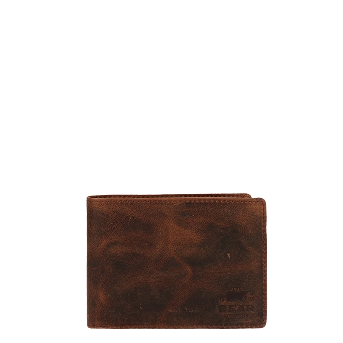 Bear Design Vegas Billfold brown - 1