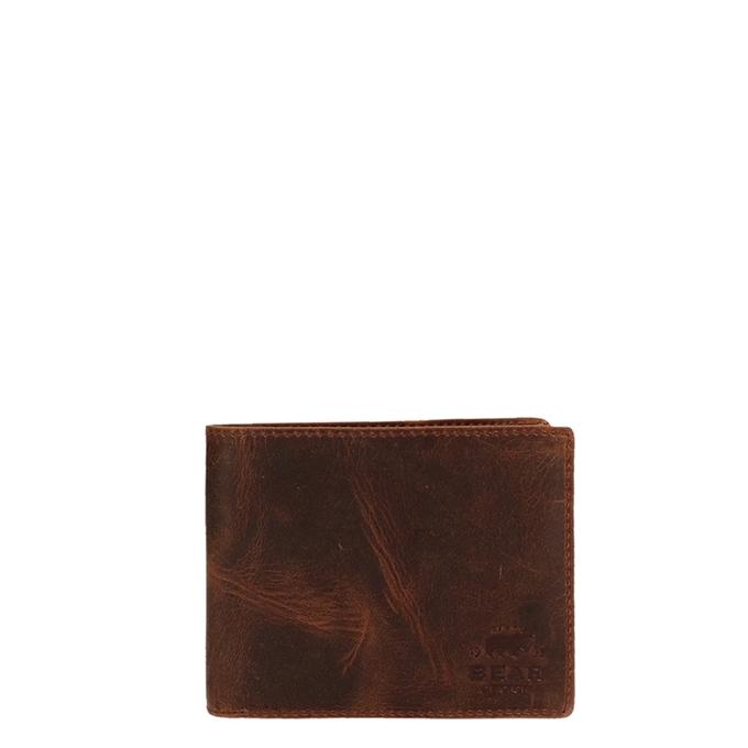 Bear Design Vegas Billfold brown3 - 1