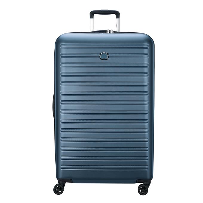 Delsey Segur 2.0 4 Wheel Trolley 81 blue
