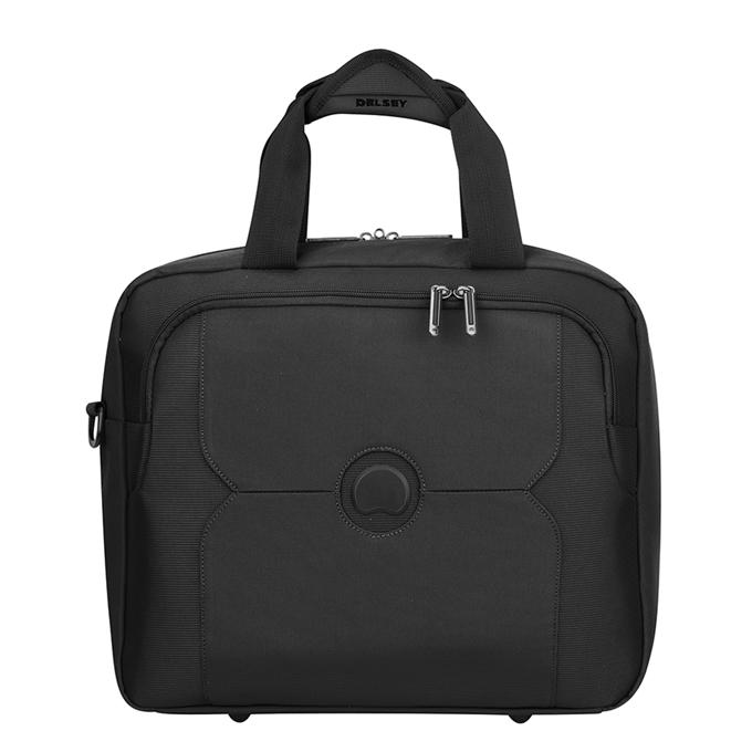 Delsey Mercure Tote Reporter Bag black - 1