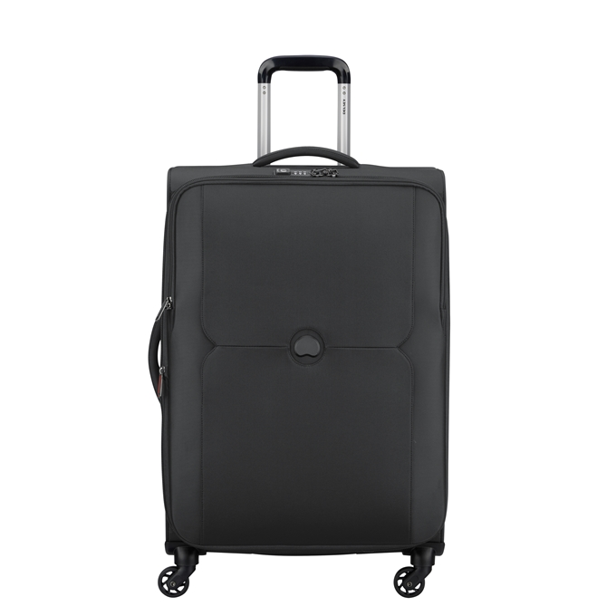 Delsey Mercure 4 Wheel Expandable Trolley 68 black - 1