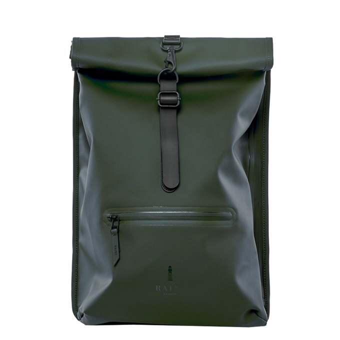 Rains Original Roll Top Backpack green
