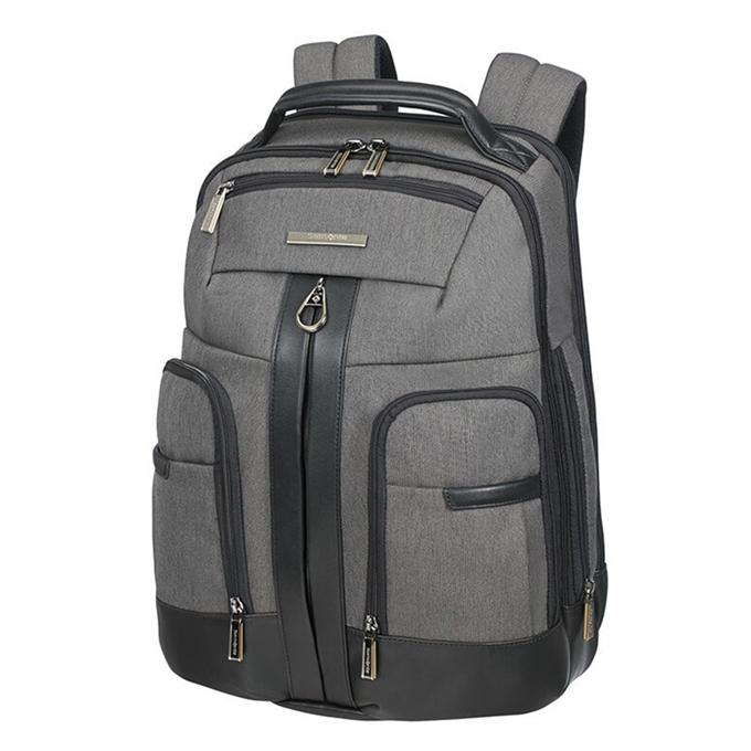 Samsonite Checkmate Laptop Backpack 15.6'' C Zip grey - 1