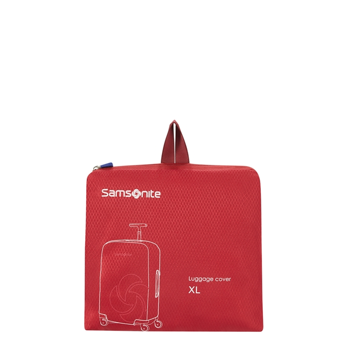 Samsonite Accessoires Foldable Luggage Cover XL red