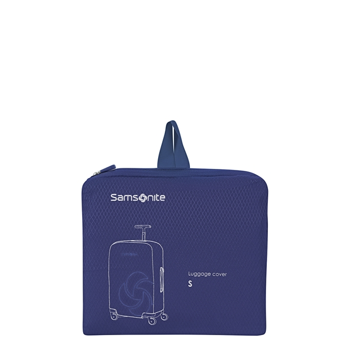 Samsonite Accessoires Foldable Luggage Cover S midnight blue - 1