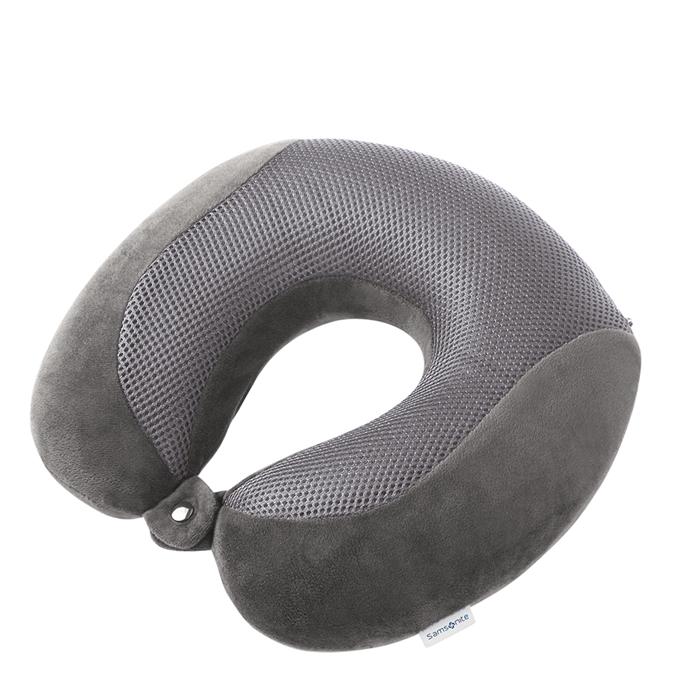 Samsonite Accessoires Memory Foam Pillow Cooler eclipse grey