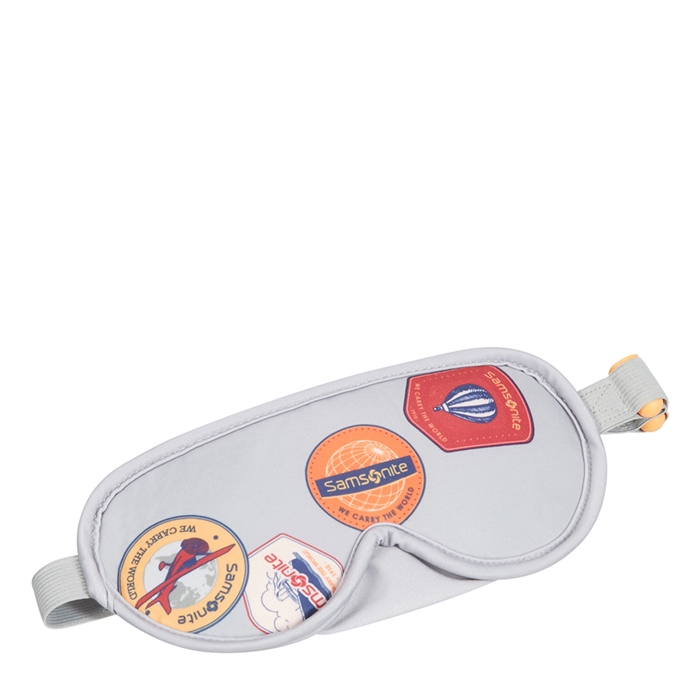 Samsonite Accessoires Eye Mask and Earplugs heritage patches
