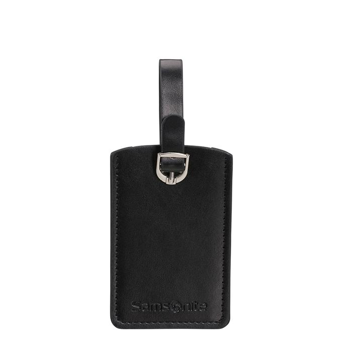 Samsonite Accessoires Rectangle Luggage Tag X2 black
