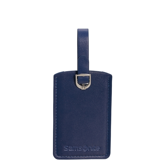 Samsonite Accessoires Rectangle Luggage Tag X2 midnight blue