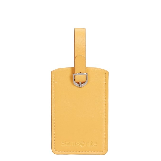 Samsonite Accessoires Rectangle Luggage Tag X2 sunflower