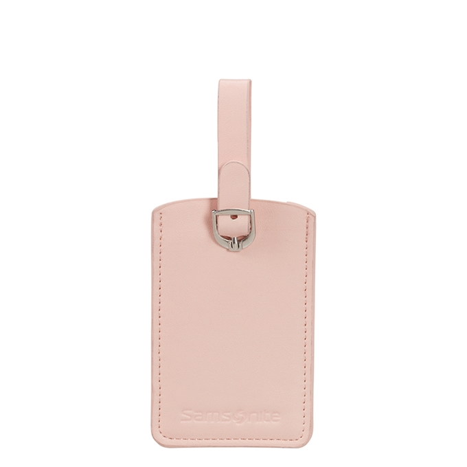 Samsonite Accessoires Rectangle Luggage Tag X2 pale rose pink