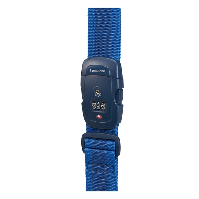 Samsonite Accessoires Luggage Strap/TSA Lock midnight blue