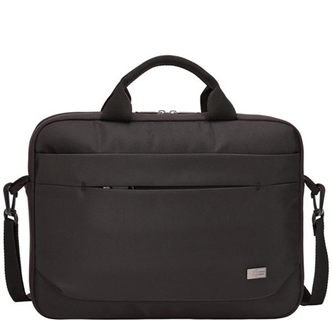 """Case Logic Advantage Laptop Attache 14"""" black - 1"""