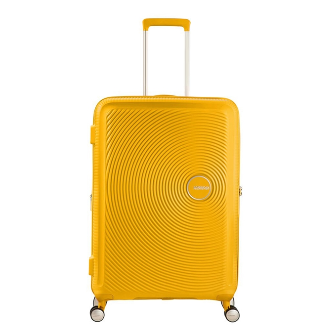 American Tourister Soundbox Spinner 67 Expandable golden yellow - 1
