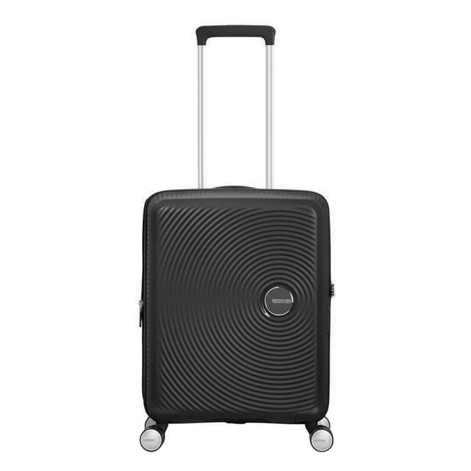 American Tourister Soundbox Spinner 55 Expandable bass black - 1