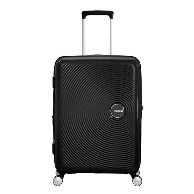 American Tourister Soundbox Spinner 67 Expandable bass black - 1