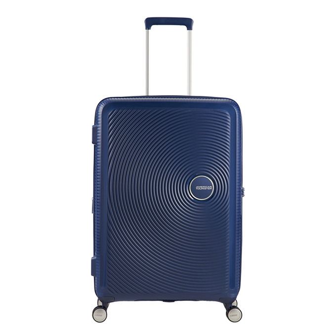 American Tourister Soundbox Spinner 67 Expandable midnight navy - 1