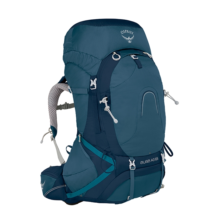 Osprey Aura AG 65 Small Backpack challenger blue - 1