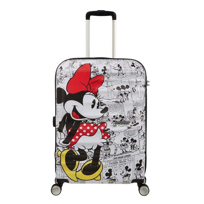 American Tourister Wavebreaker Disney Spinner 67 minnie comics white - 1