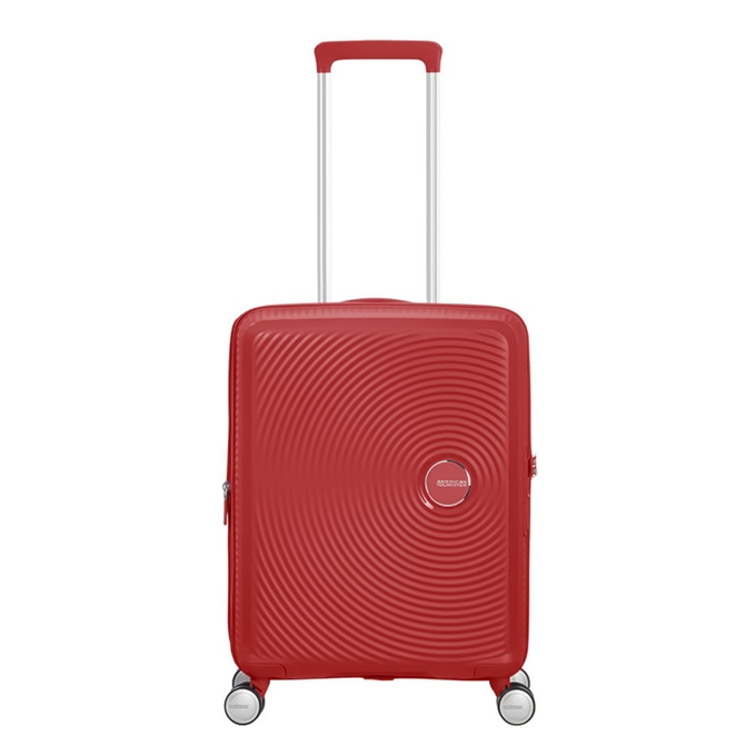 American Tourister Soundbox Spinner 55 Expandable coral red - 1