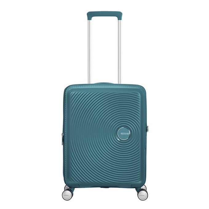 American Tourister Soundbox Spinner 55 Expandable jade green