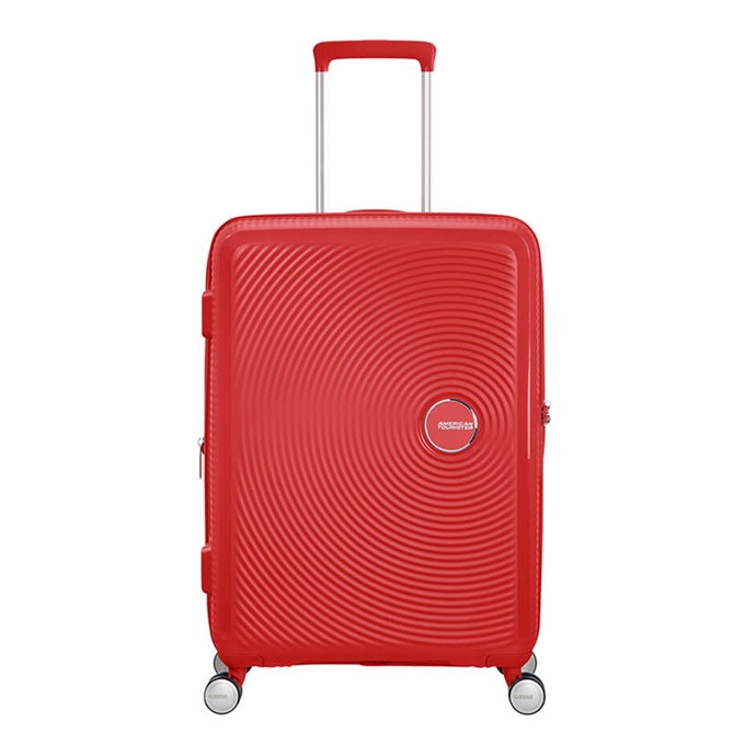 American Tourister Soundbox Spinner 67 Expandable coral red - 1