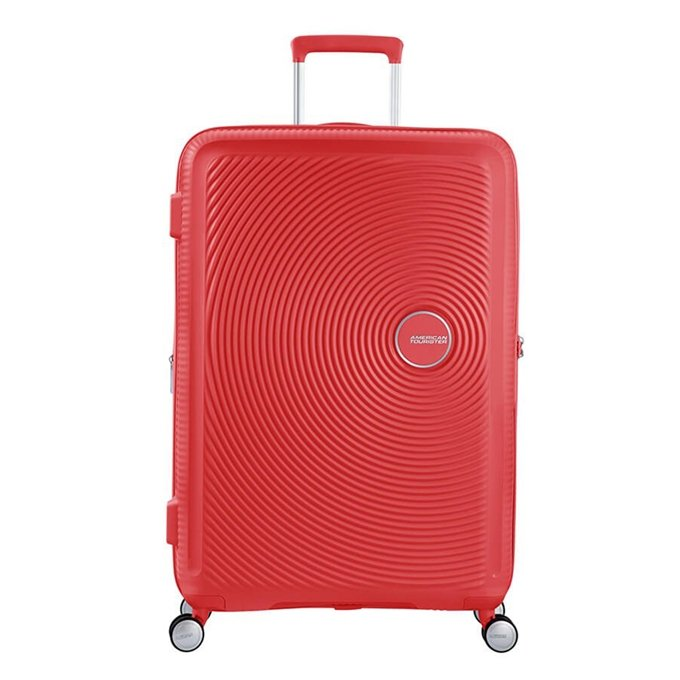 American Tourister Soundbox Spinner 77 Expandable coral red - 1
