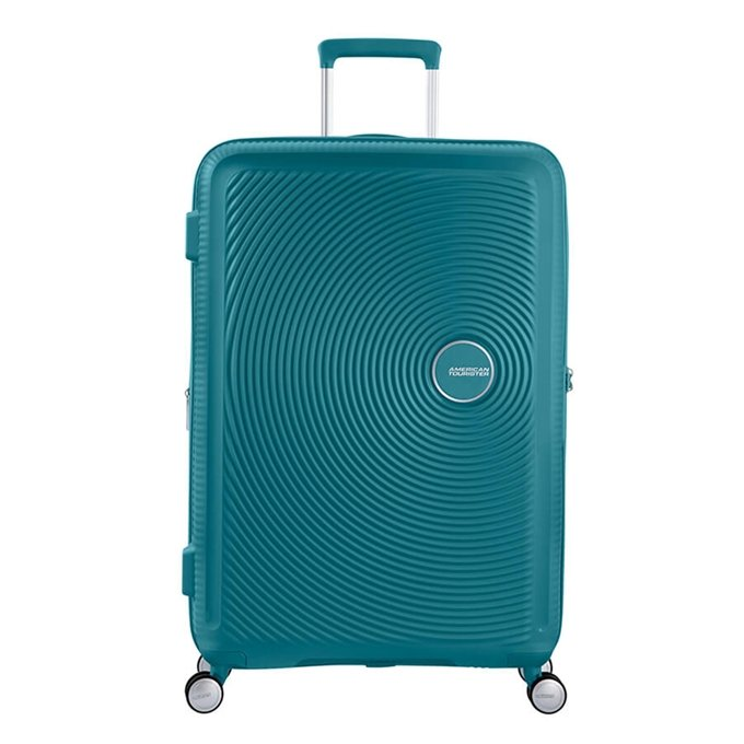 American Tourister Soundbox Spinner 77 Expandable jade green