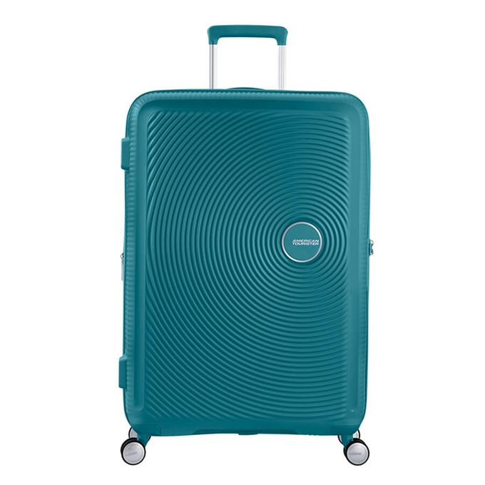 American Tourister Soundbox Spinner 77 Expandable jade green - 1
