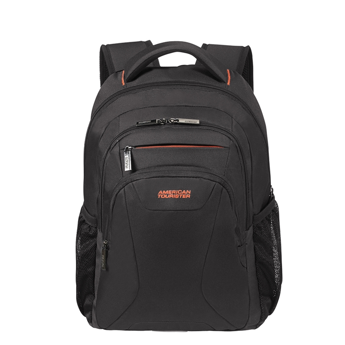 "American Tourister At Work Laptop Backpack 13.3""-14.1"" black/orange - 1"