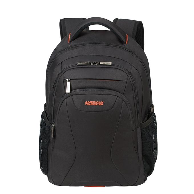 "American Tourister At Work Laptop Backpack 15.6"" black/orange - 1"