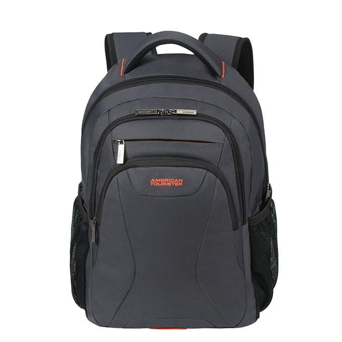 "American Tourister At Work Laptop Backpack 15.6"" grey/orange - 1"